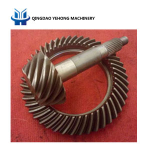 BS6059 13/46 Helical Bevel Gear Truck Parts Differential Gear Spiral Bevel Gear pictures & photos