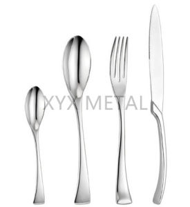Customized Logo Mirror Polished Stainless Steel Flatware pictures & photos