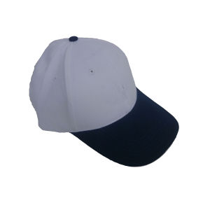 6-Panel Golf Cap with Flat Embroidery Logo pictures & photos