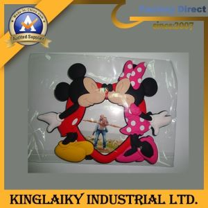 Personalized Promotion 3D Photo Frame with Logo for Gift (PF-5) pictures & photos