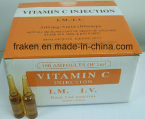 GMP Certified Vitamin C for Injection / Vitamin C Injection pictures & photos