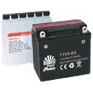 Maintenance Free Motorcycle Battery 12V 9ah in High Starting Performance with CE UL Certificate Called Ytx9-Bs pictures & photos