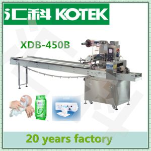Wet Wipes Making Machine Automatic Wet Wipes Flow Packing Machinery pictures & photos
