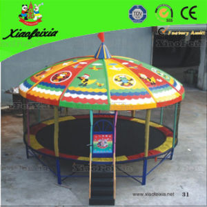 Small Outdoor Round Trampoline for Kids (LG063) pictures & photos