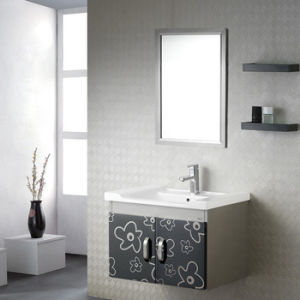 Fine PVC Bathroom Cabinet, M112 Diaogui Wash Station Bathroom Ceramic Basin and Bathroom Vanity pictures & photos