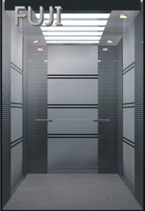 Stripe Stainless Steel Passenger Lift / Passenger Elevator pictures & photos