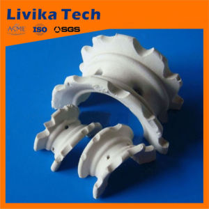 2015 Hot Sale Low Cost Top Quality Ceramic Random Packing Ceramic Different Saddle Ring
