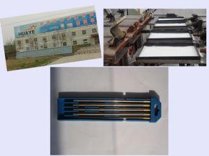 1%/1.5%/2% Lanthanated Tungsten Electrodes/Tungsten Rods/Wolfram Bars (WL10/WL15/WL20) pictures & photos