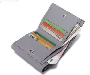 Fashion Promotional PU Leather Women Wallet