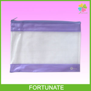 Vinyl PVC Mesh Zipper Holder Bag pictures & photos