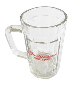 High Quality Glass Beer Mug Wigh Good Price Tableware Kb-H0090 pictures & photos