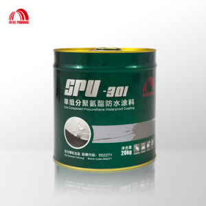 Single Component Polyurethane Waterproof Coating with Nice Price pictures & photos
