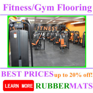 Cheap Indoor Waterproof Rubber Flooring for Fitness Rubber pictures & photos