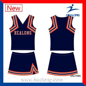 Healong Quick Dry Digital Print Clothing Cheerleader pictures & photos