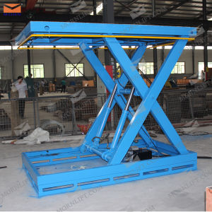 CE Approved Stationary Hydraulic Scissor Lifts pictures & photos