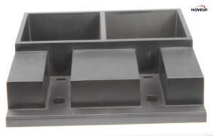 Grey Vacuum Forming Show Shelf, Pop Accessories Display Stand