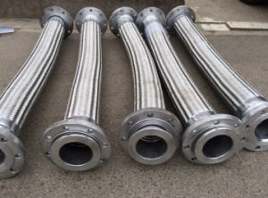 Ss Flexible Metal Hose with Fixed Loose Flange pictures & photos