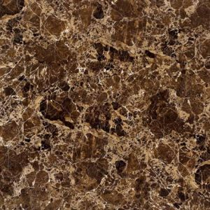 Dark Colour Stone Brown 6b003 Full Polished Porcelain Tile pictures & photos