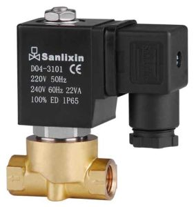 Air Water 2 Way Normally Closed Solenoid Valves (SLP SERIES) for Water Air pictures & photos