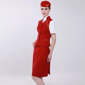 Airline Uniform Wholesale Women Airline Uniform pictures & photos
