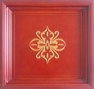 Red FRP Tile Look 3D Waterproof Ceiling