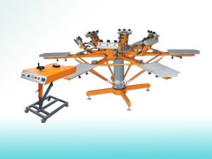 Silk Screen Printing Machine (SP-6C6SM) pictures & photos