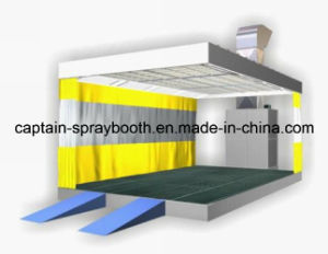 Captain-6-1-I Car Paint Area / Polish Booth / Polishing Booth / Sanding Room pictures & photos