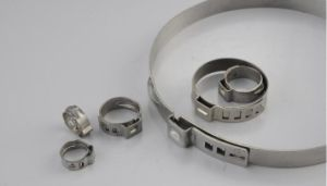 Stainless Steel Hose Clamp for Rubber Tubes pictures & photos