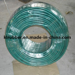 "High Quality 5/8"" Reinforced PVC Garden Hose pictures & photos"