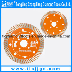 Wet Use Continuous Rim Diamond Saw Blade pictures & photos