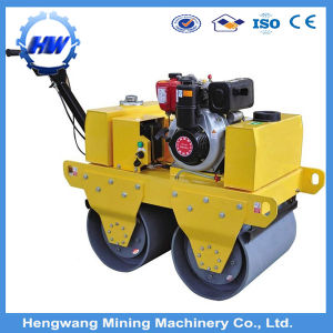 Single Drum Diesel Vibration Hand Road Roller pictures & photos