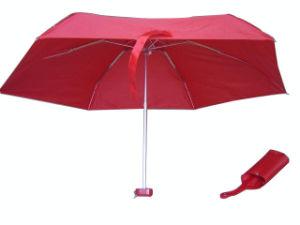 6 Panel 5 Folding Umbrella (5FU006) pictures & photos