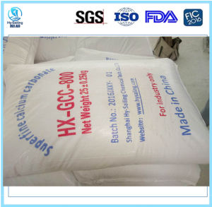 China Ground Calcium Carbonate Manufacturer Hxgcc800 pictures & photos