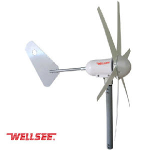 300W High Efficiency Wind Turbine Generator 12V/24V (WS-WT400W)