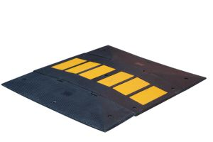Plastic & Rubber Speed Bump Portable Road Speed Bumps (CC-B08) pictures & photos