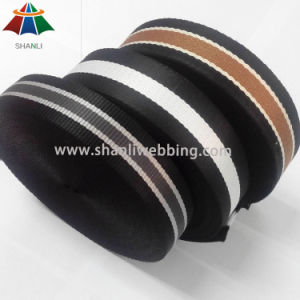Nylon/ Polyester/ PP/ Cotton Striped Webbing pictures & photos