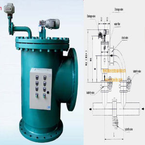 Automatic Brushaway Water Filter for Hot Water Bath Heating System pictures & photos