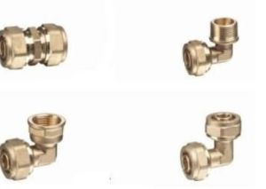 90 Degree Elbow Brass Fitting pictures & photos