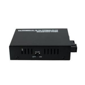 4 RJ45 Port 10/100Mbps Optical Fiber Media Converter Single Fiber Wdm Optical Transceiver (MC1004SC) pictures & photos