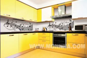 High Quality Modern Kitchen Cabinet with E1 Standard