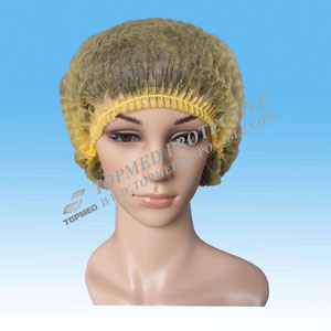 Topmed Supply Disposable Surgical Nurse Cap Bouffant Cap pictures & photos