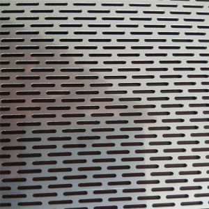 Galvanized Slotted Hole Perforated Metal Sheet pictures & photos