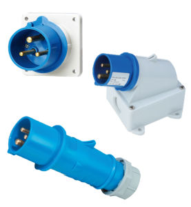 IEC Cee Industrial Plug & Socket IP44 Socket with Switch and Interlock Connector pictures & photos