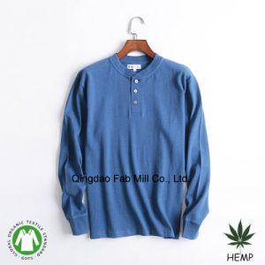 Men′s Hemp Organic Cotton T-Shirts (MLT-01/02) pictures & photos