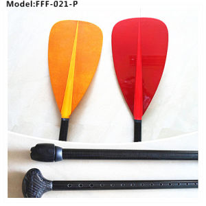 Sup Glass Fiber Paddle with Customized Colors Surface
