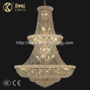 Luxury Golden K9 Crystal Pendant Light (AQ-7031) pictures & photos