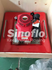 5.5HP Portable Gasoline Engine Floating Fire Pump pictures & photos