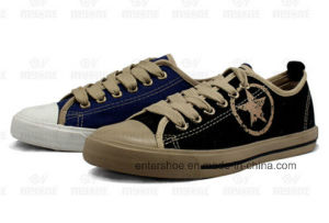 Vulcanized Classic Canvas Adult Sneaker (ET-MY170419W)