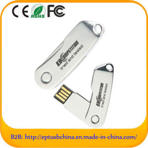 Classic Twist U Disk Metal Flash Disk with Customized Logo (EM507) pictures & photos