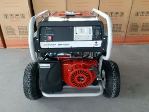Made in China 6.5kw Heavy Duty Durable Gasoline for Honda Generator pictures & photos
